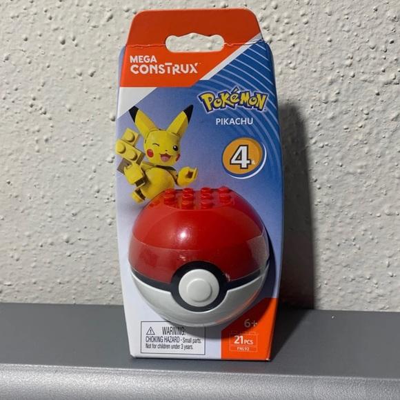 Mega Construx Pokemon Pikachu Figure